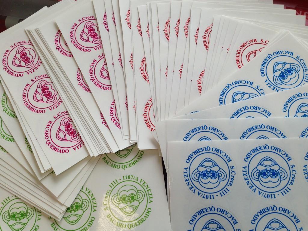 Adesivi stampati