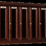 Casellario da interno modello in legno